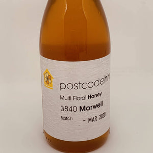 Postcode Hives Multi Floral Honey Morwell 350g