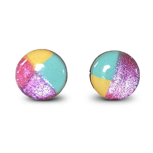 flluskë Earrings - Bath Bomb