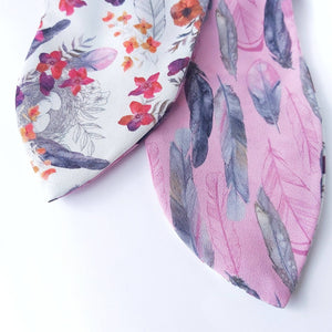 Feathered Nest Reversible Headscarf
