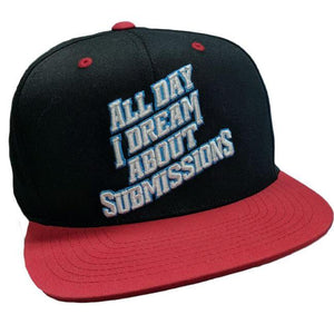 "Adidas Adidas BJJ Cap ""All Day I Dream About Submissions"""