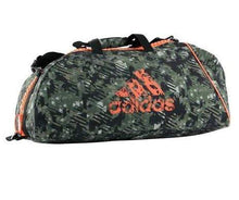 Load image into Gallery viewer, Adidas Sport Bag 'Combat Camouflage' Solar Orange Large