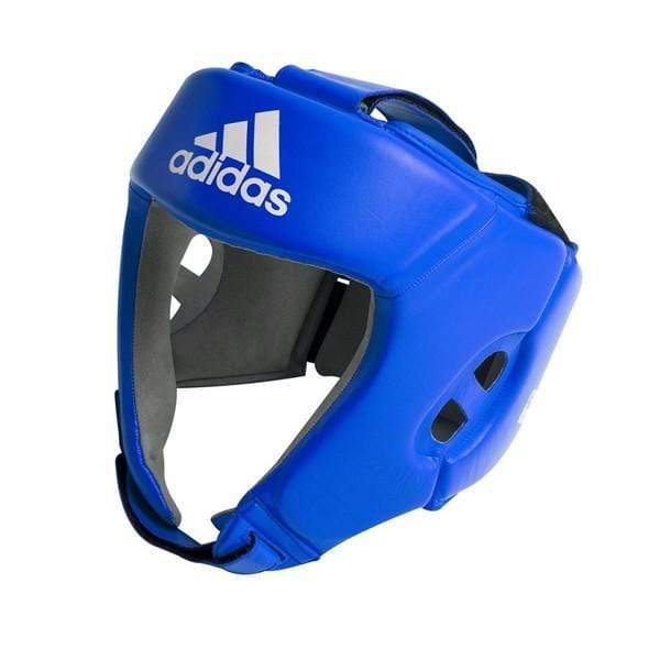 Adidas AIBA Head Guard Blue