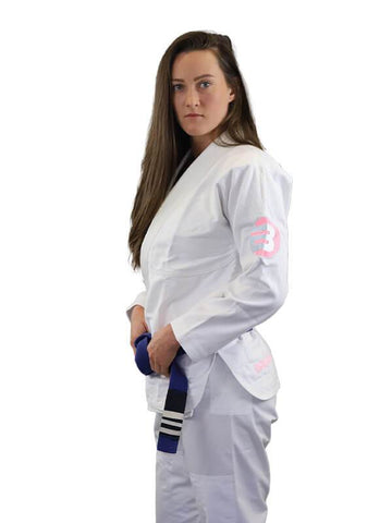 Braus Adult Kimonos F1 Braus Just B Pink Element Womens Jiu Jitsu GI