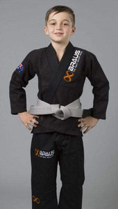 "Braus Kids Gi ""Pro Light"" Black"