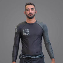 Load image into Gallery viewer, Braus DNA Rank Rash Guard Black - Long Sleeve