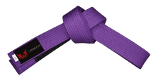 Load image into Gallery viewer, Dragon Delux BJJ Belt - Purple