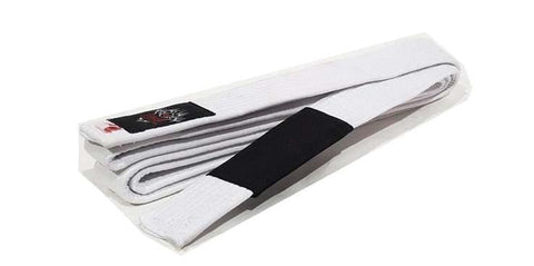 Dragon Fightwear A0 Dragon Deluxe BJJ Belt - White