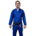 Hooks Adult Kimonos F1 Hooks Origin BJJ Gi Blue With Belt