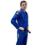Hooks Adult Kimonos Hooks Origin BJJ Gi Blue With Belt