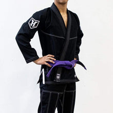 "Load image into Gallery viewer, Hooks Kids Gi ""Pro Light"" Black"