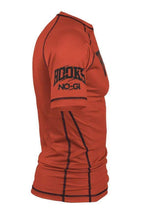 Load image into Gallery viewer, Hooks Kids Orange Ranked Rashguard