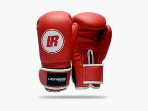 Last Round Classic Boxing Gloves Red