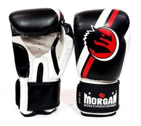 Morgan Boxing 10oz New Morgan V2 Boxing Gloves 'Classic' Black