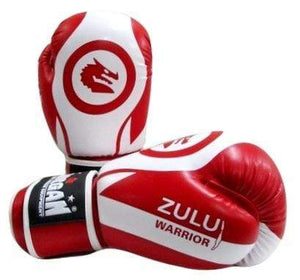 Morgan Boxing Gloves V2 'Zulu Warrior' - Red