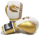 Morgan Boxing 12oz Morgan Boxing Sparta Gloves White-Gold