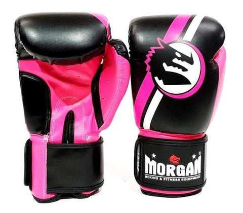 Morgan Boxing 8oz New Morgan V2 Boxing Gloves 'Classic' Pink-Black