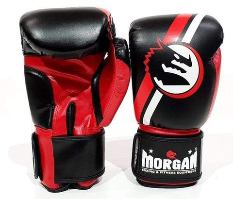 Morgan Boxing 8oz New Morgan V2 Boxing Gloves 'Classic' Red