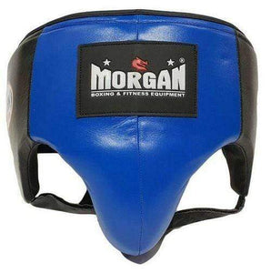 Morgan Platinum Leather ABDO Guard - Blue