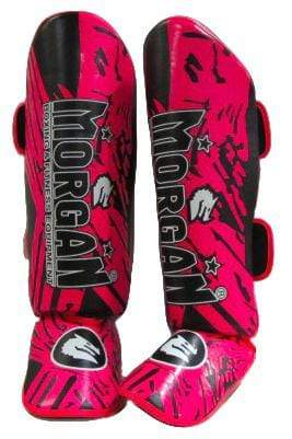 Morgan Boxing M Morgan Shin & Instep 'BKK Ready' - Pink