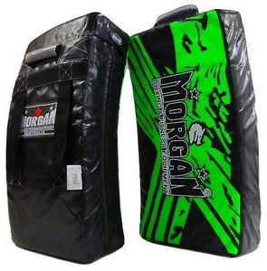 Morgan BKK Ready Curved Strike-Kick Shield - Green
