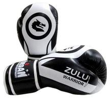 Load image into Gallery viewer, Morgan Boxing Gloves V2 'Zulu Warrior' - Black