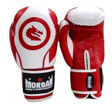 Load image into Gallery viewer, Morgan Boxing Gloves V2 'Zulu Warrior' - Red