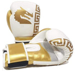 Morgan Boxing Morgan Boxing Sparta Gloves White-Gold