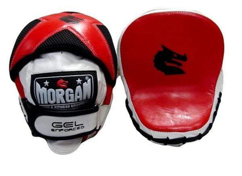 Morgan Boxing Morgan Focus Pads V2 Micro Gel Injected Leather Speed Pads