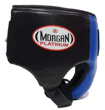 Load image into Gallery viewer, Morgan Platinum Leather ABDO Guard - Blue