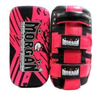 Morgan Boxing Morgan Thai Pads Curved 'BKK Ready' Leather Pair - Pink