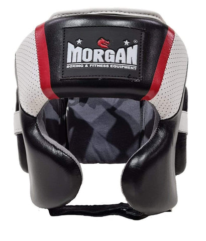 Morgan Boxing S Morgan V2 Mexican Leather Head Gear