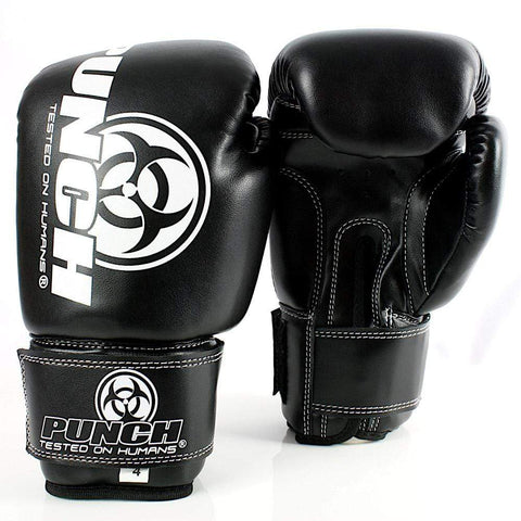 Punch Equipment Boxing Gloves BLACK Punch Equipment Kids/Junior Urban Boxing Gloves 4oz