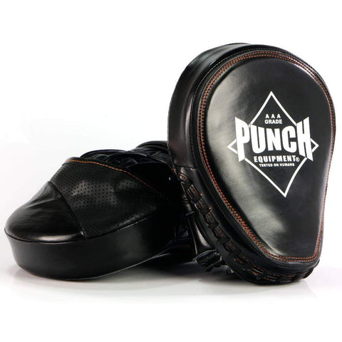 Punch Equipment Focus Pads Punch Equipment Black Diamond Muay Thai Focus Pads