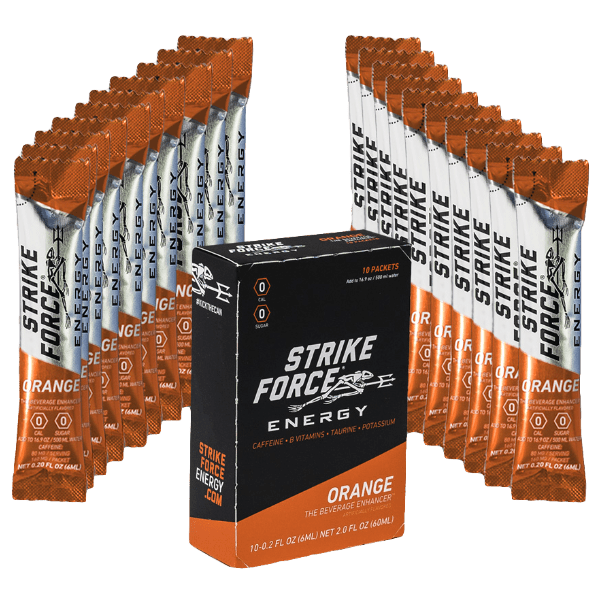 Strikeforce Orange flavour 10 Pack