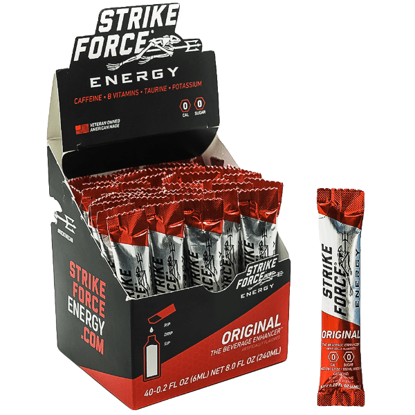 Strikeforce Original flavour 40 Pack