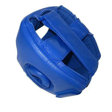 Load image into Gallery viewer, Wesing Headgear AIBA Approved Leather Blue
