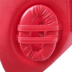 Wesing Wesing Headgear AIBA Approved Leather Red