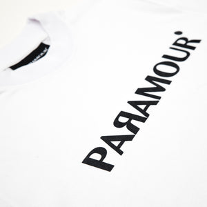 PARAMOUR TEE-SHIRT CLASSIC VELOURS (BLANC)