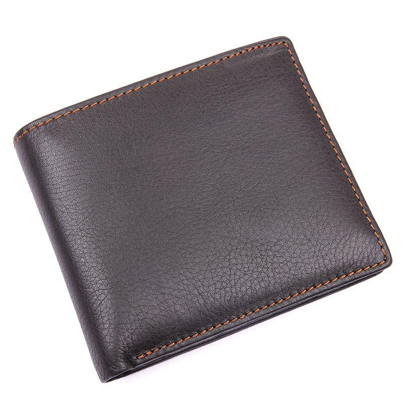 TucciPolo 8155-3C Mens Coffee Genuine Leather Big Capacity Wallet with Card Holder Coin Wallet