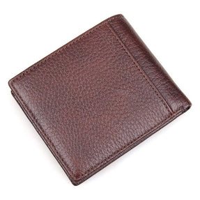 TucciPolo R-8142-3C Mens RFID Wallet Great Cowhide with Real Leather Mens Card Holder
