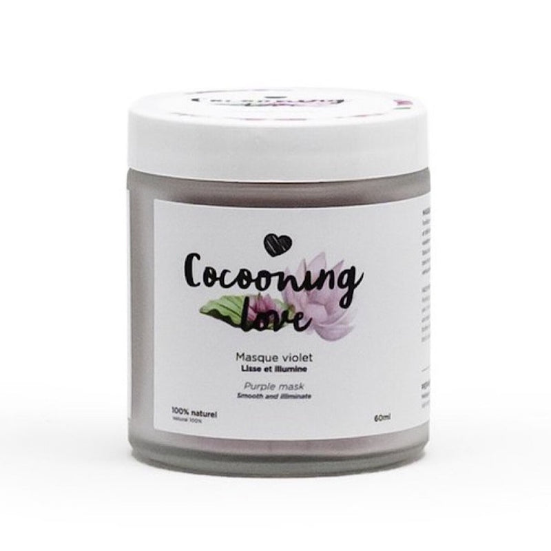 Cocooning love - Masque Violet Illuminant - Boutique Ousias