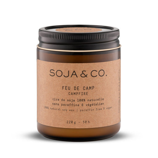 Soja and co - Bougie Feu de Camp - Boutique Ousias