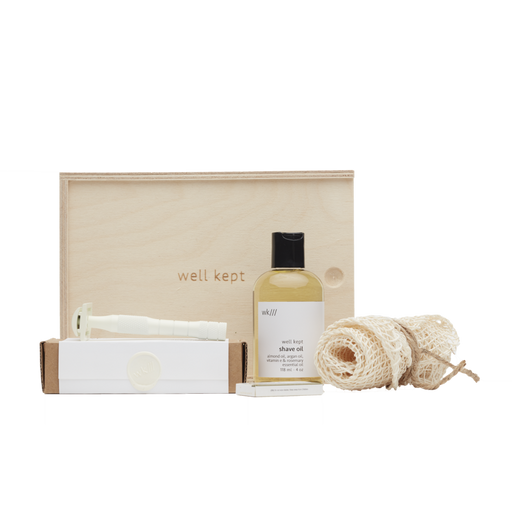 Well Kept - Kit de rasage - crème - Boutique Ousias
