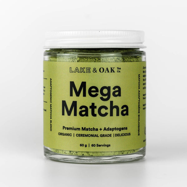 Lake & Oak - Thé Mega Matcha - Boutique Ousias