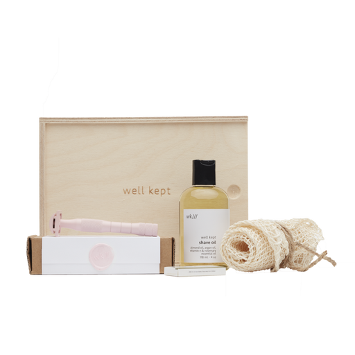 Well Kept - Kit de rasage - rose - Boutique Ousias
