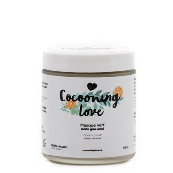 Cocooning love - Masque Vert Purifiant - Boutique Ousias
