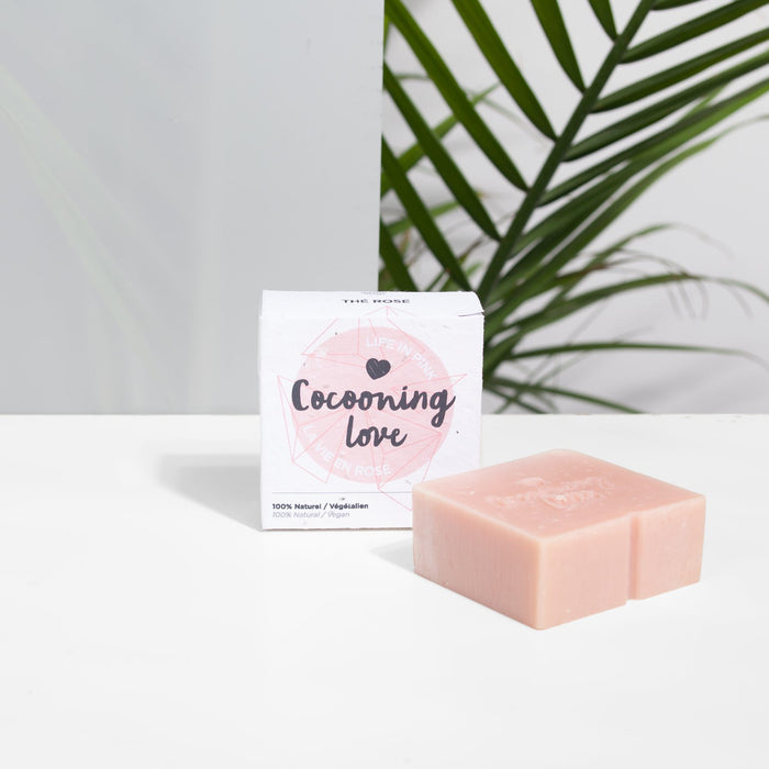 Cocooning love - Savon Thé Rose - Boutique Ousias