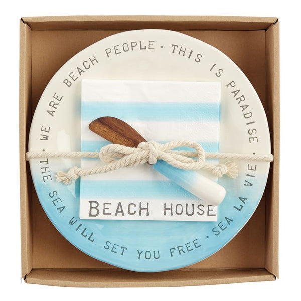 Mudpie Beach House Cheese Set