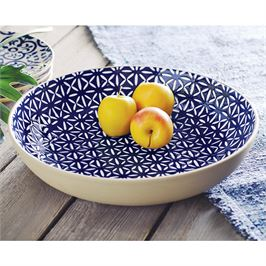 Serving Bowl | Indigo Stoneware