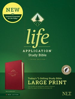 NLT Life Application Bible Large Print
